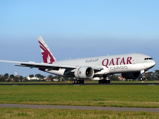 カタール航空の貨物専用機