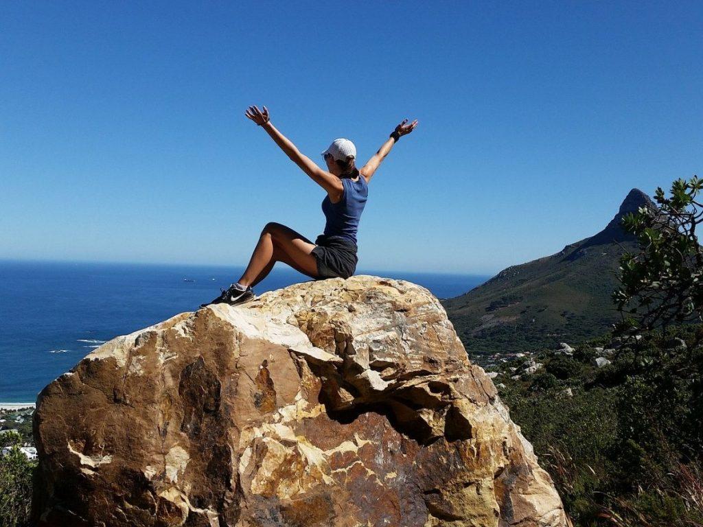 登頂、夢の実現