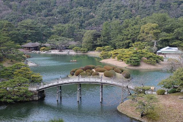 香川県高松市栗林公園