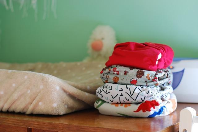 子供服の洗濯物