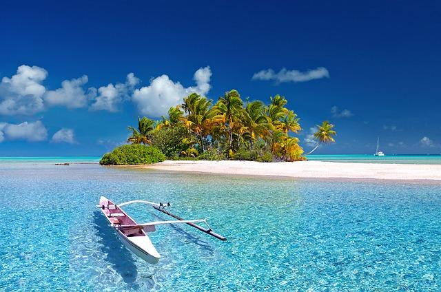 ポリネシアの島
