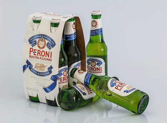 仕事の後のビール