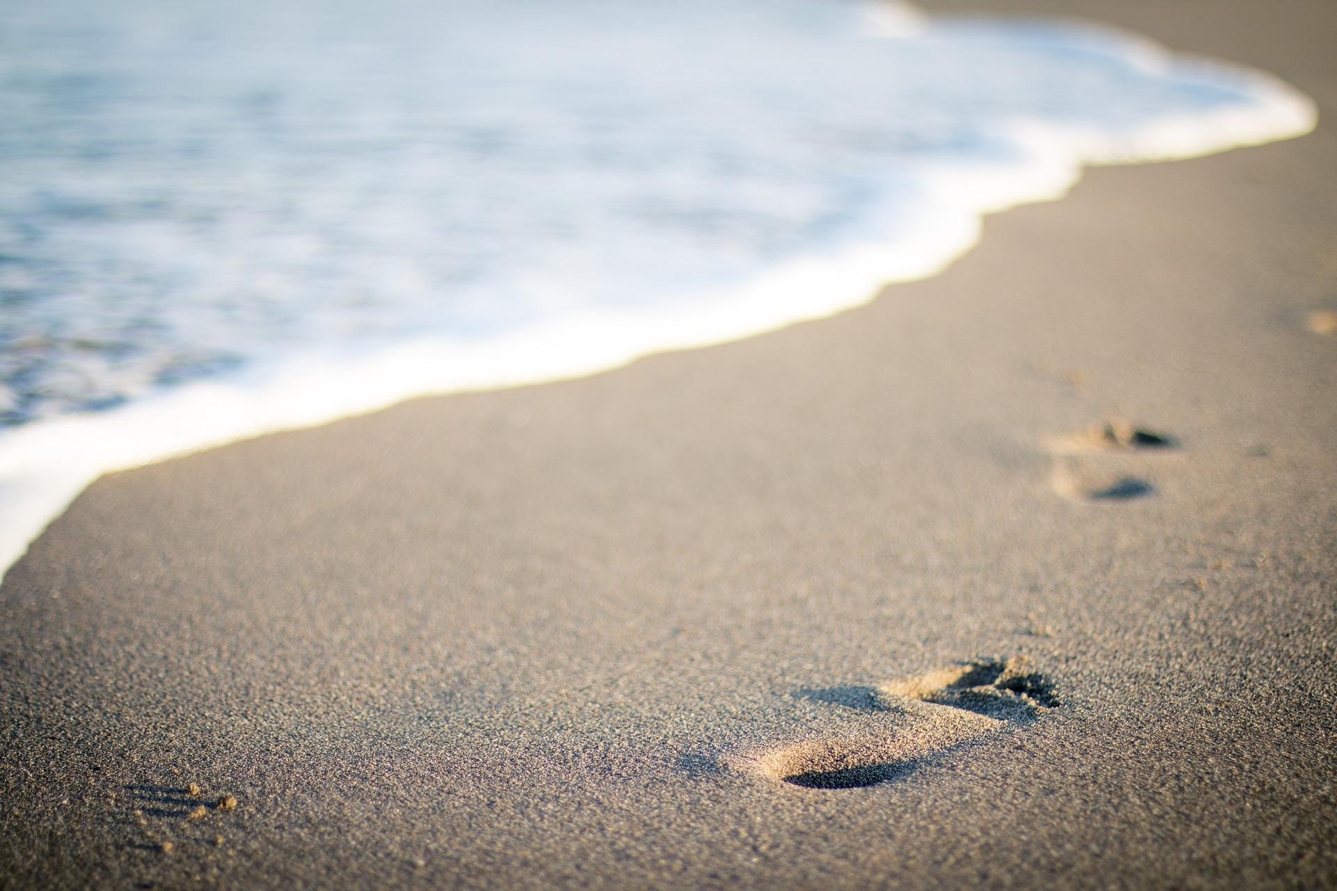 砂と海岸線